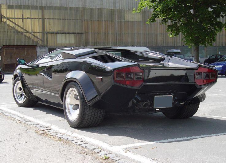 Lamborghini Countach Amazing Design