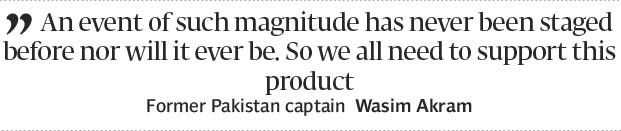 Wasim Afridi want fans to get behind PSL - The Express Tribune