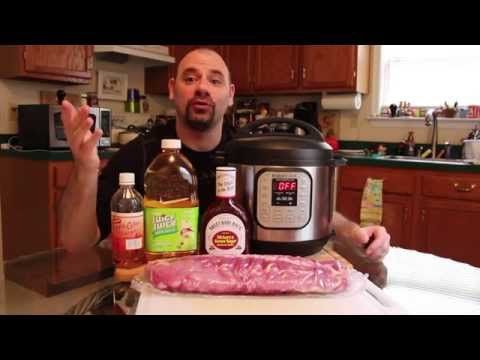 Ribs - Fall off the Bone - with Instant Pot Pressure Cooker - YouTube