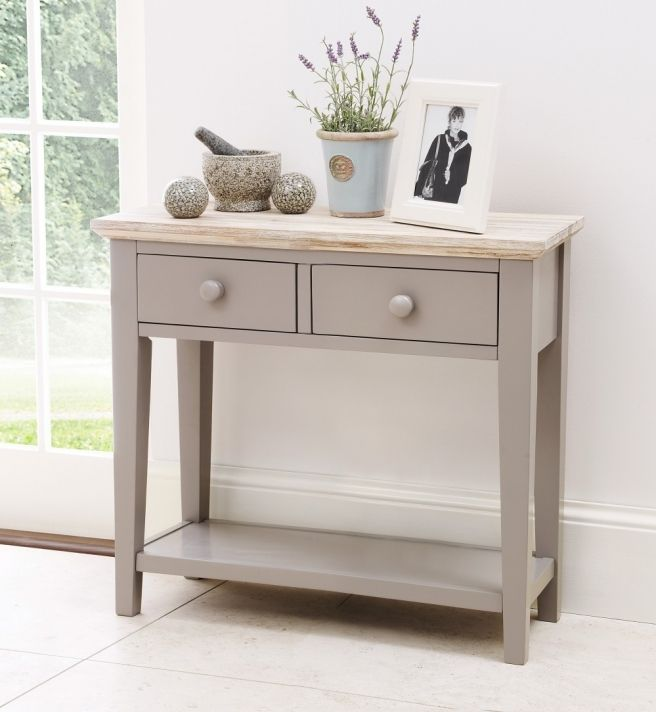 Small Console Table Florence Grey