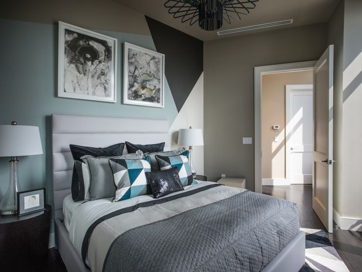 guest bedroom design ideas best turquoise wall paint color ideas for