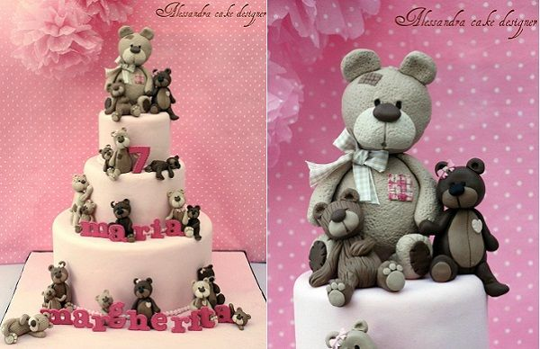 teddy bear wedding cake topper 17 best images about vintage teddy cakes on 20790