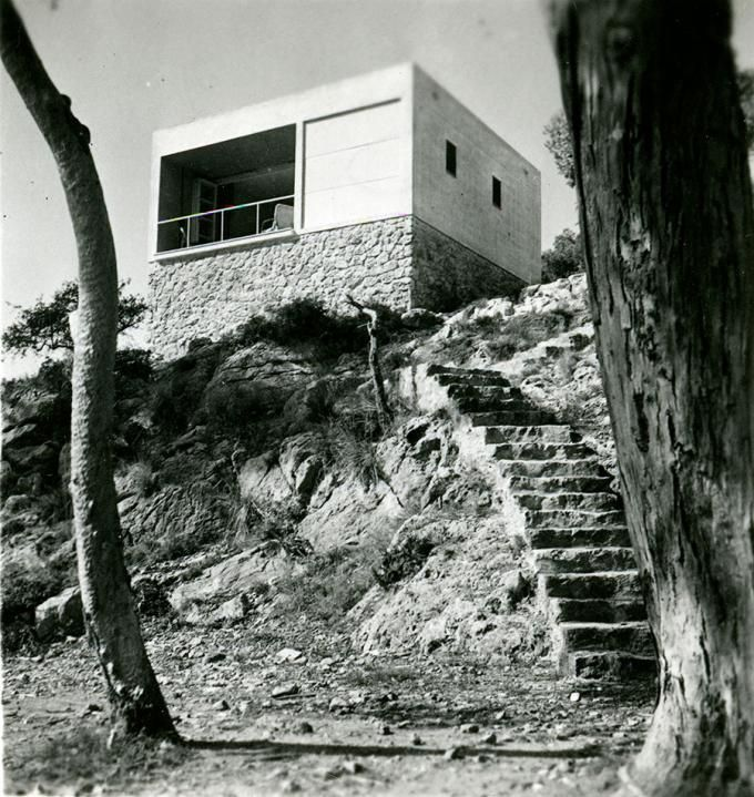 Margaret Michaelis, Casa del Garraf, Costas del Garraf (Barcelona), 1935. Josep Lluís Sert y Josep Torres Clavé. Arxíu Fotogràfic de Barcelo...