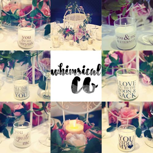 Soy Candles Wedding  Adelaide Whimsical Co