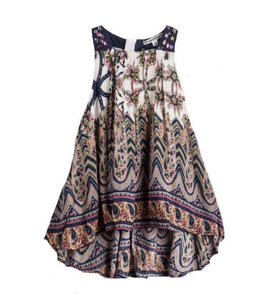 Bohemian Hi Lo Dress