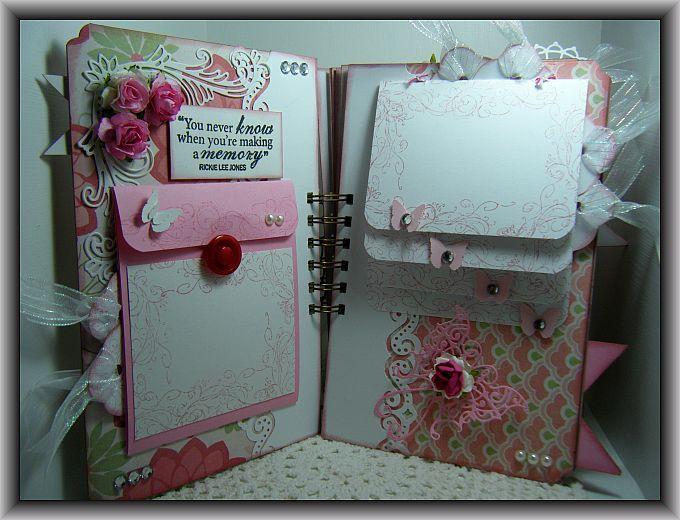 Cheery Lynn Memory Book 2Journals, Album Book, Minis Album, Memories Book, Minialbum, Albums Book, Scrapbook, Lynn Memories, Cheery Lynn