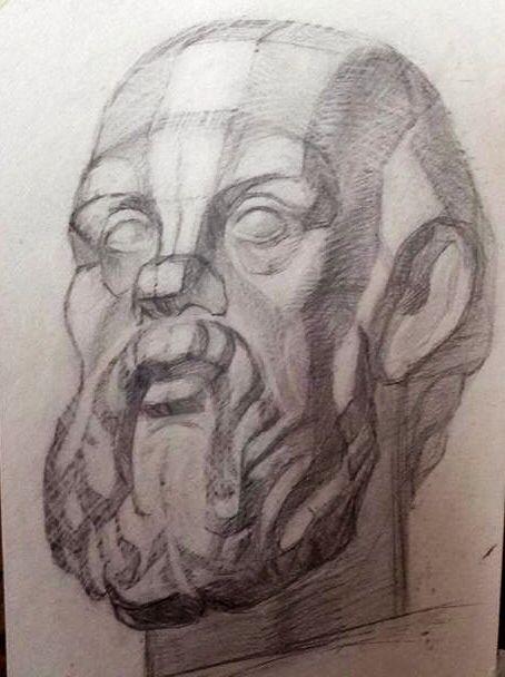 Greek philosopher Socrates. V 2.0