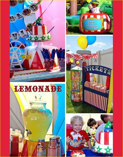 17 best images about circus party on pinterest - Carnival party menu ...