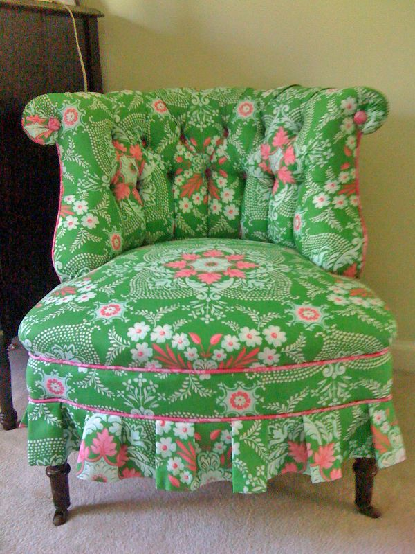 jennifer paganelli fabric. Used this in turq for trudi's nursery. What a great idea for remaining fabric.