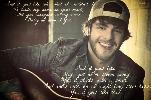 Image result for and it goes like this thomas rhett