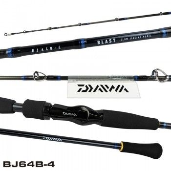 Vara - DAIWA - Carretilha - VARA BLAST BJ64B-4 NOVO | MarineSportsfishing.com
