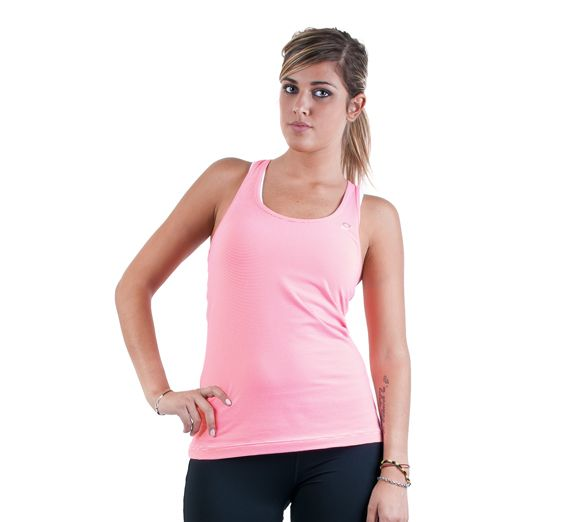 Lorna Jane Athletic Excel Tank - Slim fit tank ideal for all workouts! Made from Lorna Jane's top performance fabrics - Find this and others at Onsport.com.au!