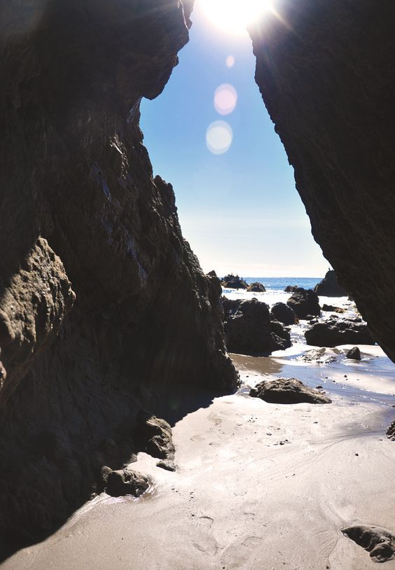 California Road Trip: Best Stops Along Highway One | El Matador State Beach in Malibu, California