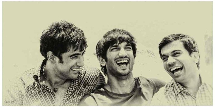 Exclusive black and white image from Kai Po Che