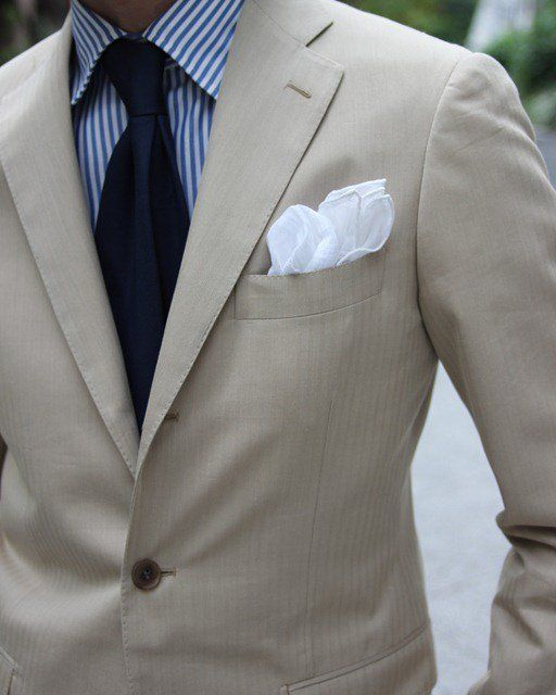 Spring wedding season is coming up, new suit? Fancy - Beige Suit Jacket by Ring Jacket