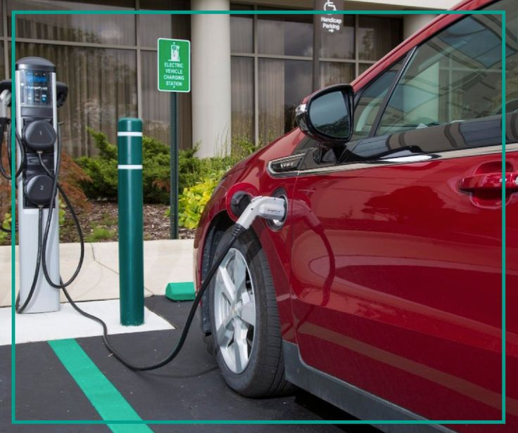Charge up after a long day of travel at our electric car charging stations! ✨