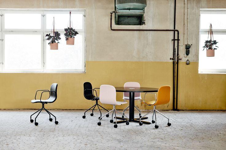 Neo Lite chair & armchair, design: Fredrik Mattson | Styling: Katrin Bååth | Photo: Sara Landstedt