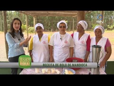 Record News Rural - receita de bolo de mandioca - YouTube