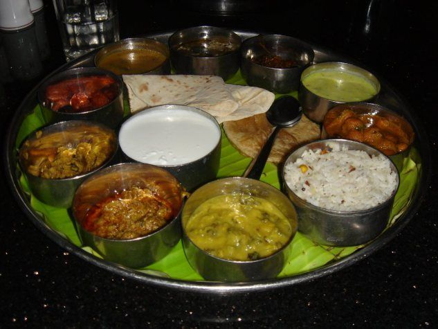 Experiencing Andhra Thali at #Tirupati was Worthwhile -  It was a large #plate with rice in the middle, surrounded by as many as 10 small steel bowls with different curies. Finding each #dish tastier than the other. Each had a unique taste of its own. #foods #andhrathali #cuisines