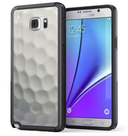 True Color Golf Ball Phone Case: A Samsung phone case to show your golf spirit on and off the golf course with one of these Samsung phone accessories for golfers. This golf phone case would make a cool golf gift!