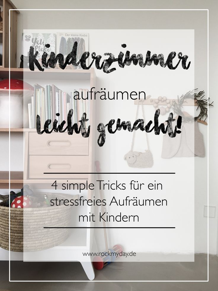 42 best Zimmer aufräumen   Ordnungssysteme für Kinderzimmer ...