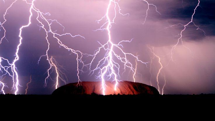 Storm Over Uluru, Australia