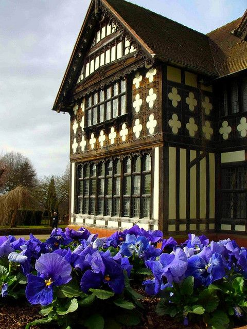 Wightwick Manor, West Midlands, England, UK