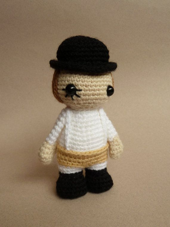 Welly, welly, welly, welly, welly, welly, well. To what do I owe the extreme pleasure of this surprising visit?  This crocheted amigurumi doll is