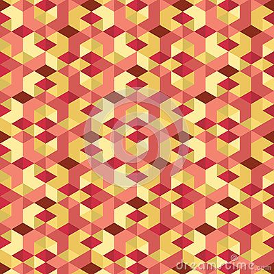 Isometric Pattern Vector For Background, Wallpaper, Floor Design and Decoration
