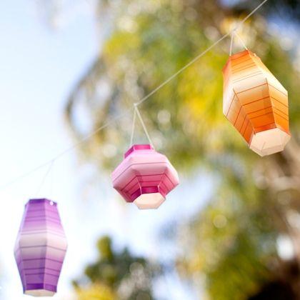 Minnie's Masquerade Paper Lanterns