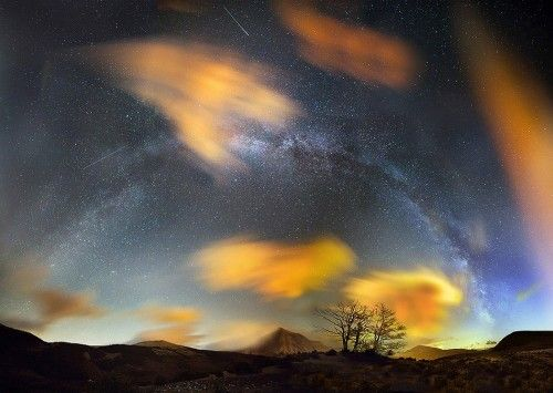 1x.com is the world's biggest curated photo gallery online. Each photo is selected by professional curators. Milky Way arched Night by Pignotti Maurizio