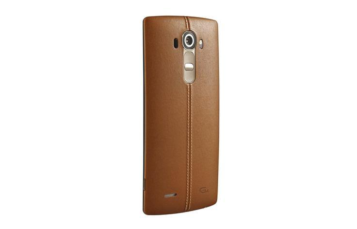 LG G4 (H815) leather - Vlajková loď od LG so zadným koženným krytom.