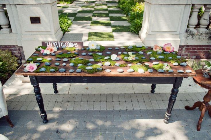 Lugares nas mesas