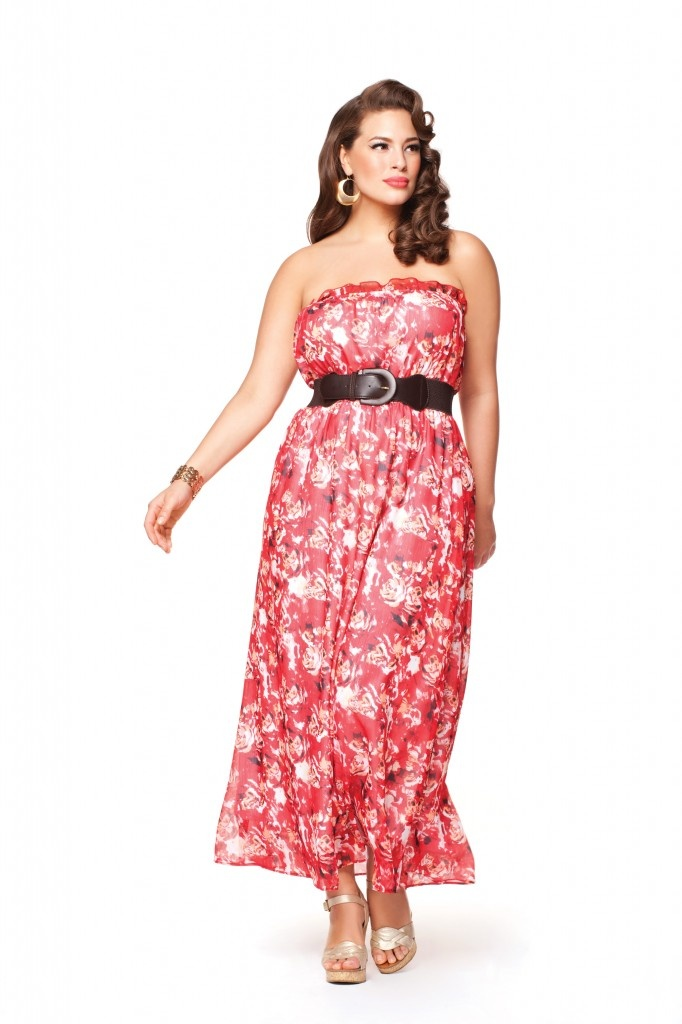 The must-have Summer 2012 maxi dress #ashleygraham #plussize #lingerie #additionelle