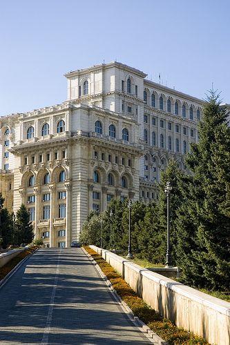Palace Of Parliament, Bucharest Romania