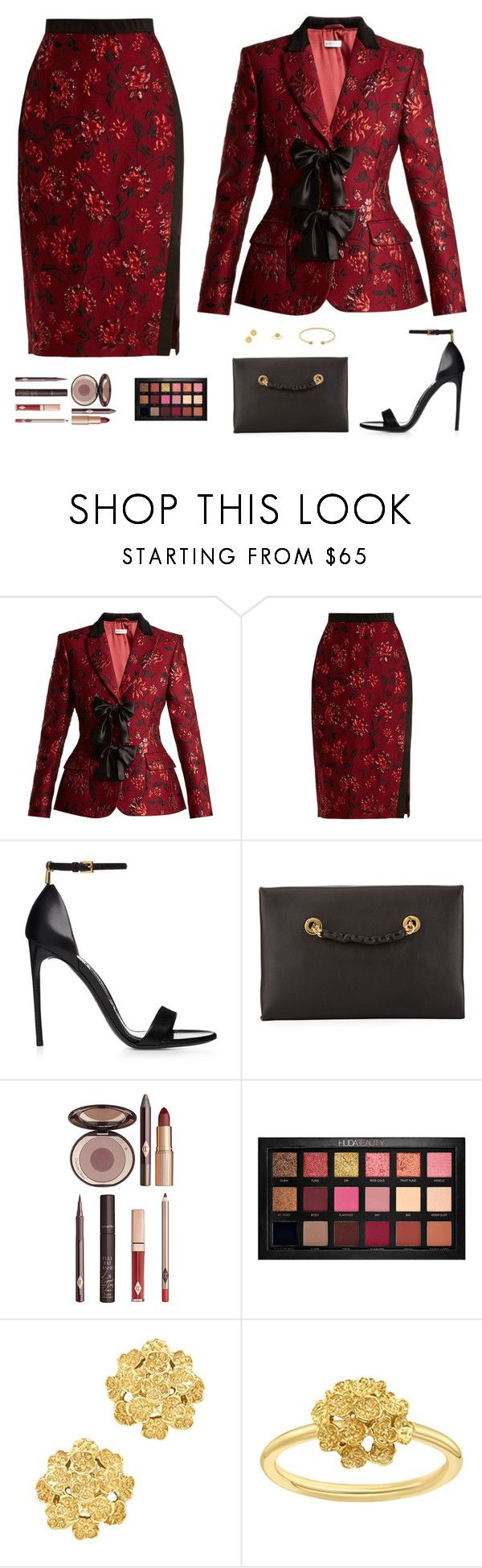 """Sin título #5132"" by mdmsb on Polyvore featuring moda, Altuzarra, Tom Ford, Charlotte Tilbury, Huda Beauty, London Road y Gucci"