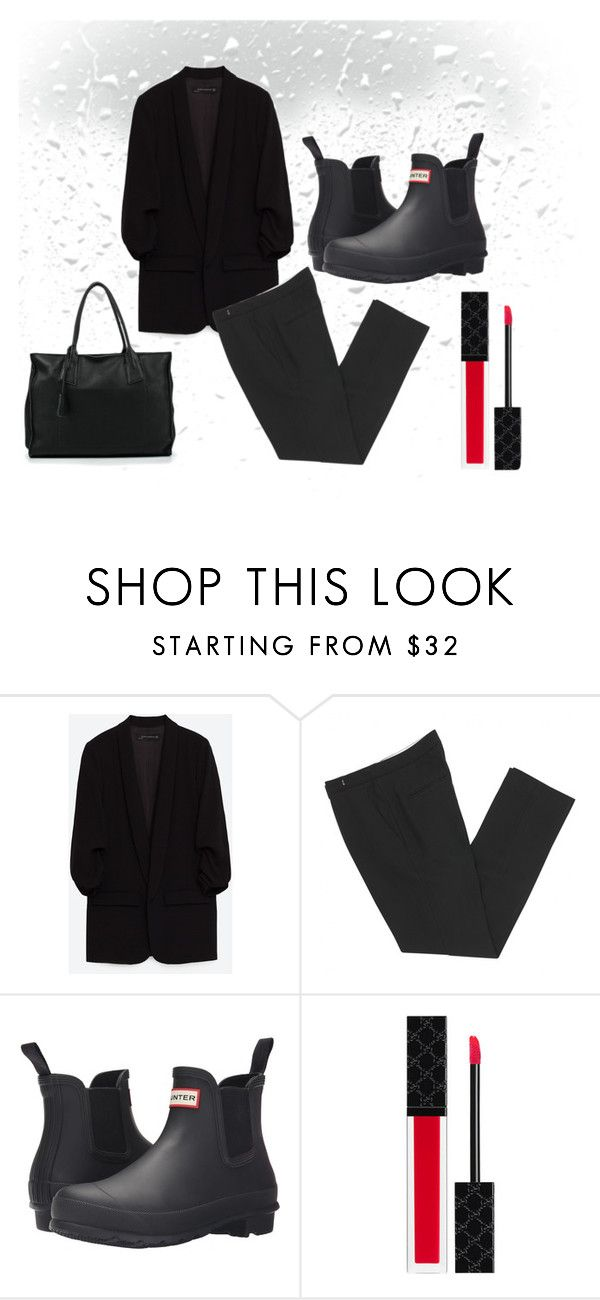 """85"" by alena-mendesh on Polyvore featuring мода, Isabel Marant, Hunter и Gucci"