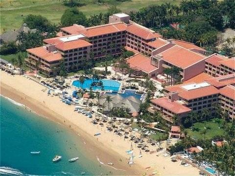 Barcelo Beach Resort in Huatulco, Mexico.  I can pick out our room overlooking the pool in this picture!  Would love to go back!