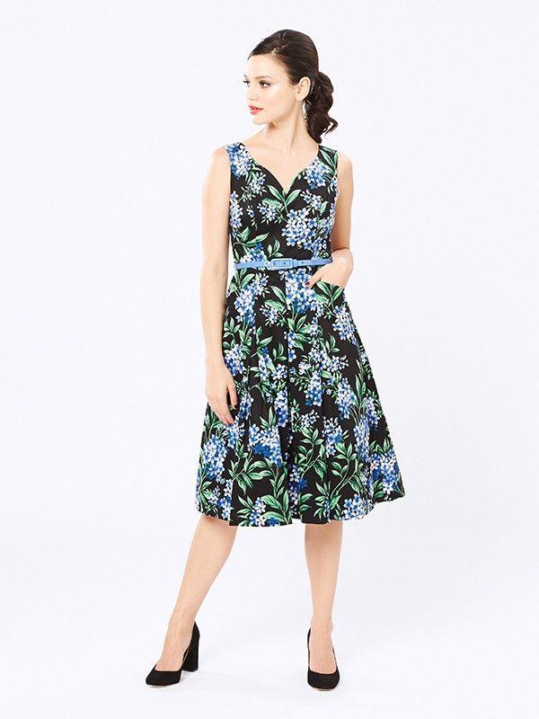 Heavenly Hydrangea Dress