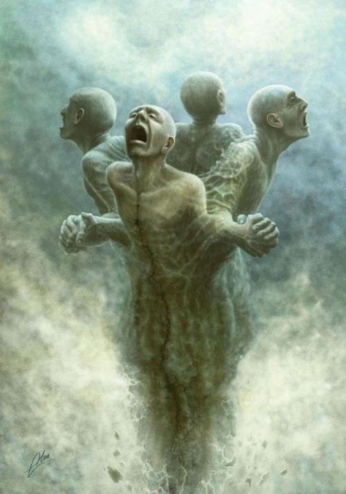 Surreal Depictions of Human Nature Versus the Universe - My Modern Met