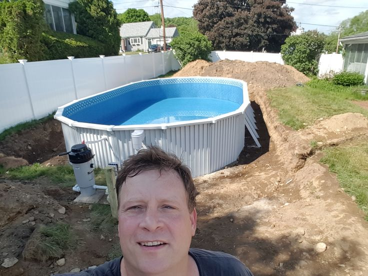 Read here about the best semi inground pools. There are only a few strong enough and designed to be installed partially in the ground.
