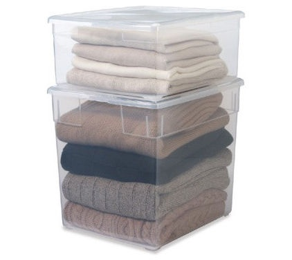 How to store clothes long term