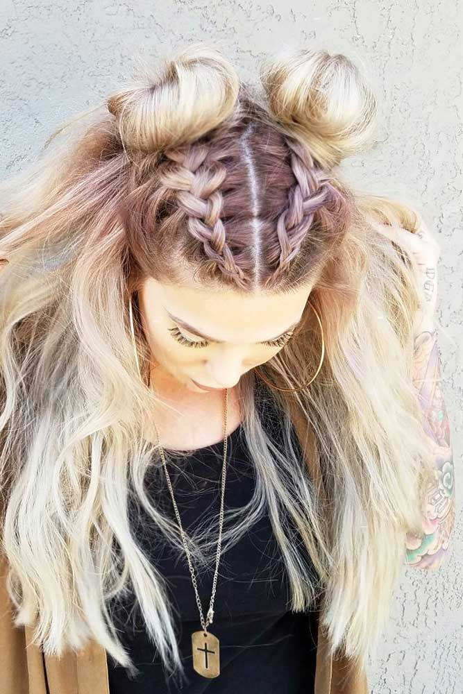 54 Cute And Creative Dutch Braid Ideas Hair  colors and