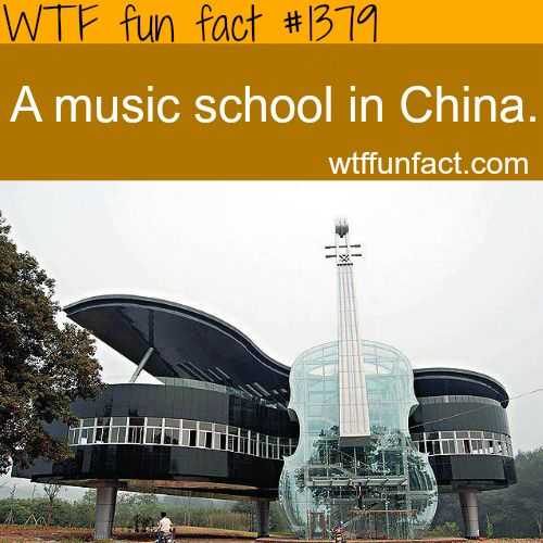best architecture: music school in china WTF FUN FACTS HOME / SEE MORE tagged/places FACTS