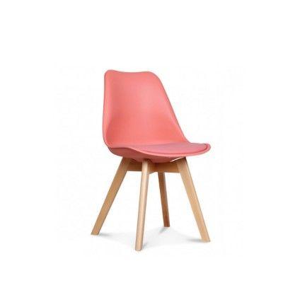Chaise scandinave - LOUMI CORAIL