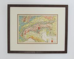 Geologic Map of Northern Italy