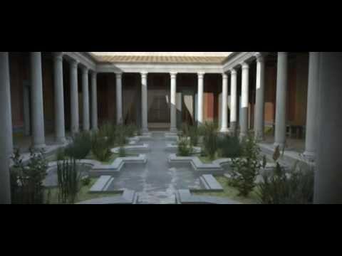 ▶ Casa dos Repuxos, Conimbriga 3D / Virtual Roman House - YouTube