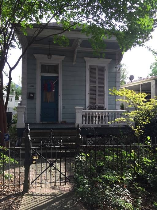 in New Orleans, United States. Located in Mid City we are 2 blocks from street car, walking distance to grocery store, many restaurants, bars and coffee shops.   We are very close to City Park, less than 3 miles to the French Quarter, and very close for Jazz Fest and Voodoo Fes...