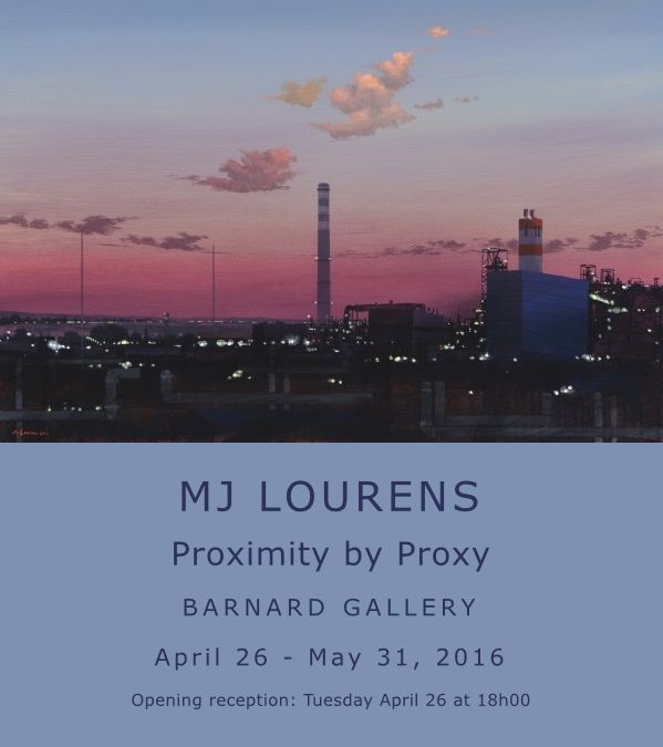 Highly anticipated solo show of hugely talented landscape artist MJ Lourens at the Barnard Gallery  26 March, Cape Town