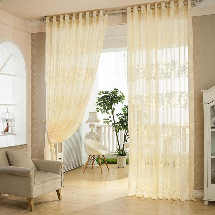 114 best curtains images on pinterest blinds curtains - European style curtains for living room ...